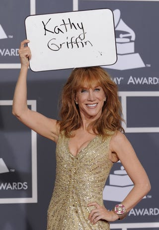 Illustration for article titled Kathy Griffin's New Year's Resolution:  Offend Willow Palin