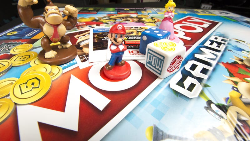 Illustration for article titled Mario-Themed Monopoly Gamer Has Power-Ups And Boss Battles