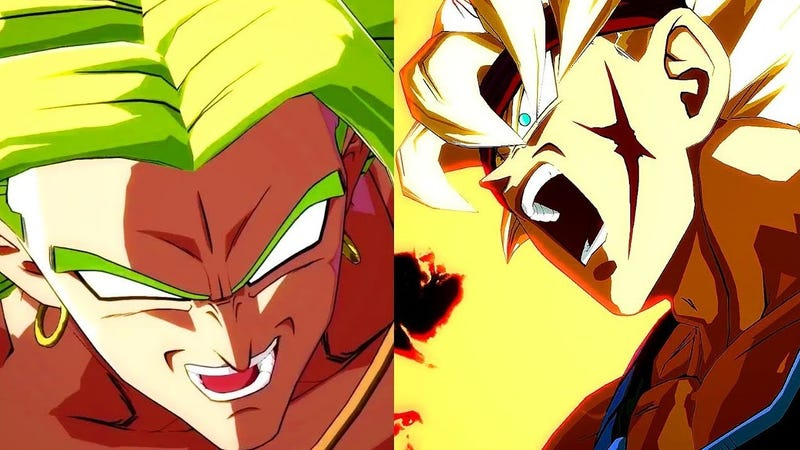 Two New Fighters Broly And Bardock Hit Dragon Ball FighterZ This Week Comes From An Appropriately Named TV Special Z The