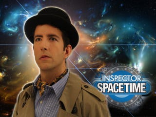 Illustration for article titled There's going to be an Inspector Spacetime web series!