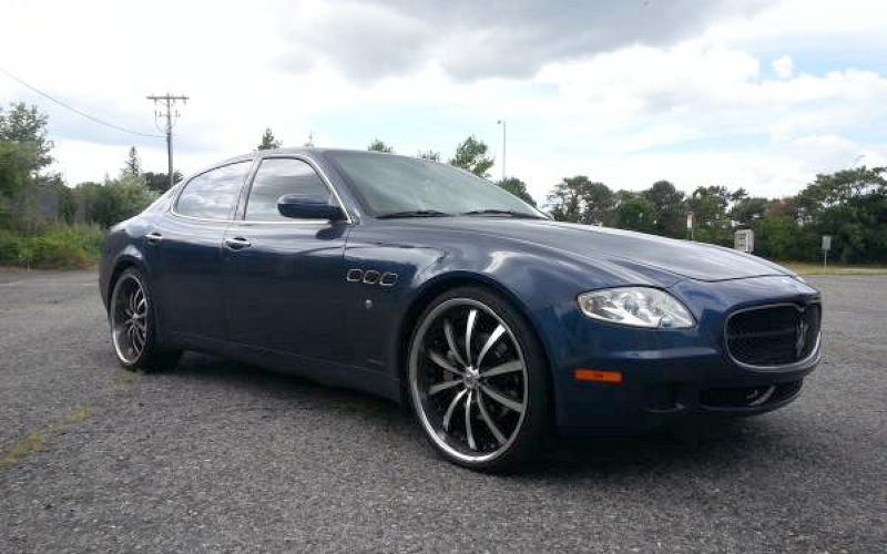 how about this 2007 maserati quattroporte for 23 999. Black Bedroom Furniture Sets. Home Design Ideas