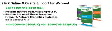 webroot technical support number usa logo