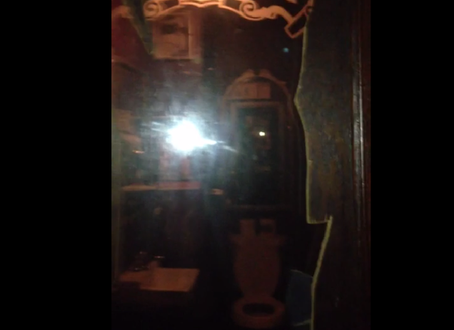 Woman uncovers two way mirror in a bar bathroom owner for Two way mirror