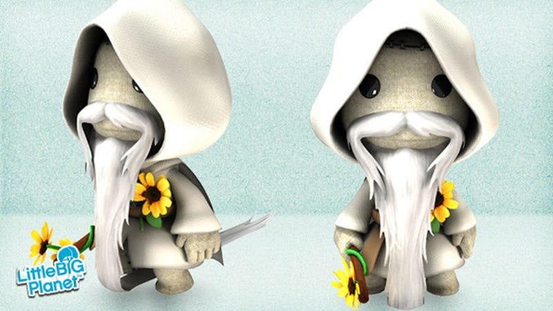 Illustration for article titled This Is The Best Sackboy Beard, By Far