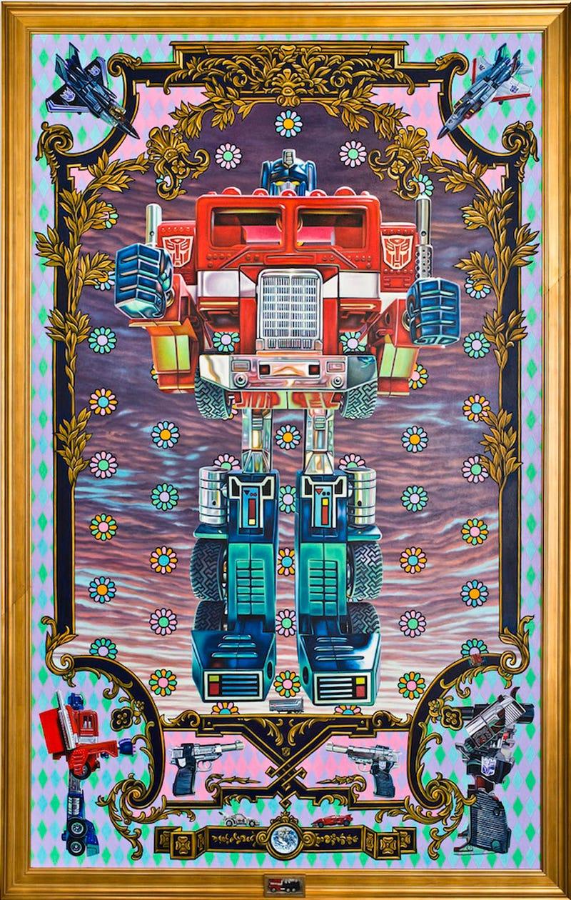 Illustration for article titled Así se hizo el homenaje más increíble a los Transformers