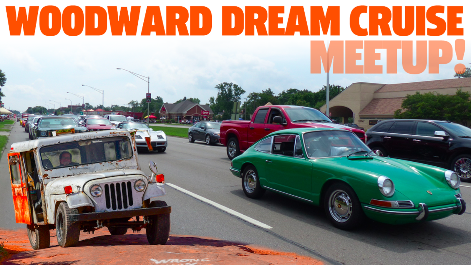 Detroit Area Jalops Join Us For The Woodward Dream Cruise