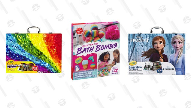 Unleash the Creativity of the Kids in Your Life (Or Your Inner Child) With Up to 50% Off Arts and Crafts Kits and Supplies