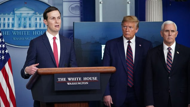 Jared Kushner Says States Should Have Planned Ahead Before Joining The Union