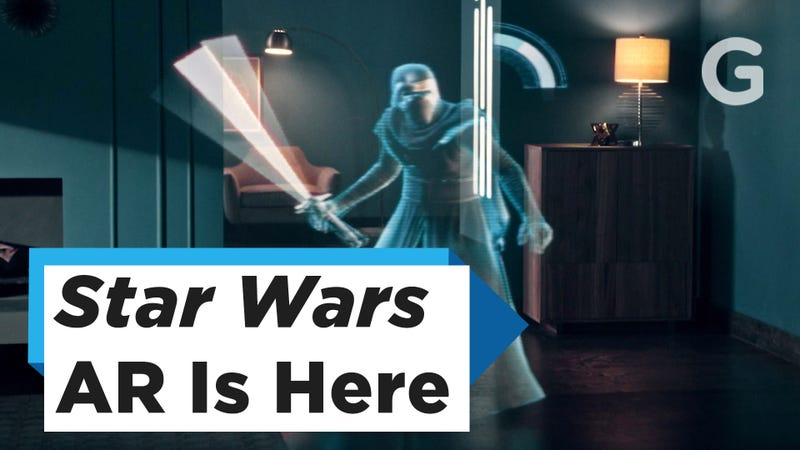 I Slayed Star Wars Villains With This New Ar Lightsaber Setup