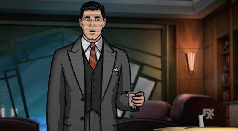 Illustration for article titled Archer Gets Totally Noir in the First Promos For Season Eight