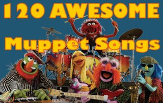 Illustration for article titled 120 Muppet songs to enjoy