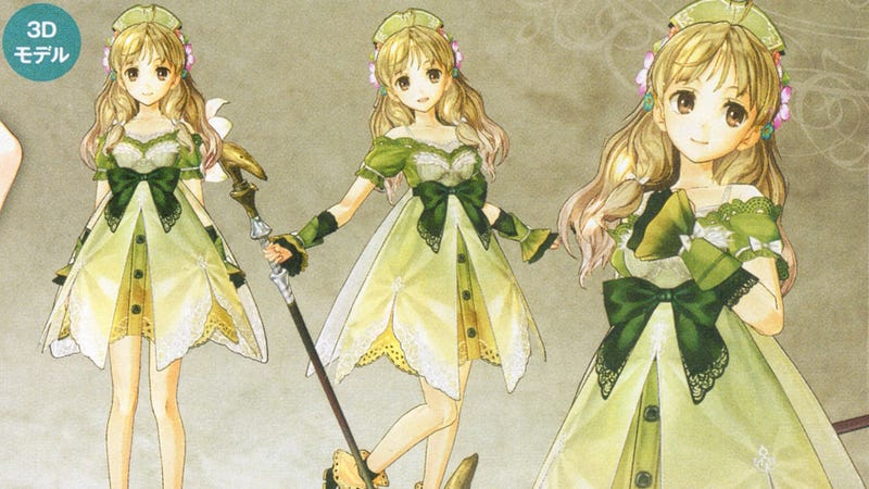 Illustration for article titled Atelier Ayesha's 3D Characters Look So Good, They Almost Look 2D