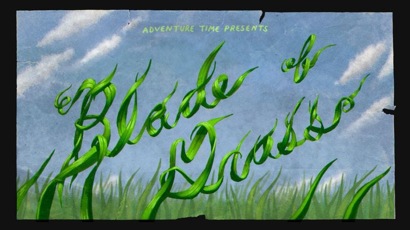"""Illustration for article titled Adventure Time: """"Blade Of Grass"""""""
