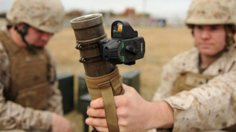 Image result for handheld mortar sight