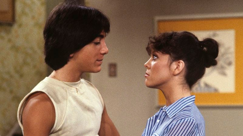 Scott Baio and Erin Moran in a 1979 Happy Days episode (Photo: ABC Photo Archives/ABC/Getty Images)