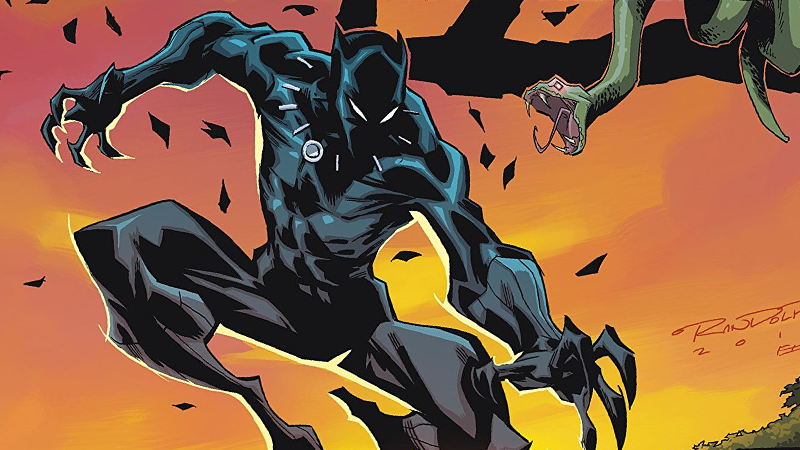 Image: Marvel Comics. Black Panther: Long Live the King #3 cover art by by Khary Randolph and Emilio Lopez.