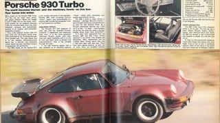 Porsche 930 road test, CAR, January 1982