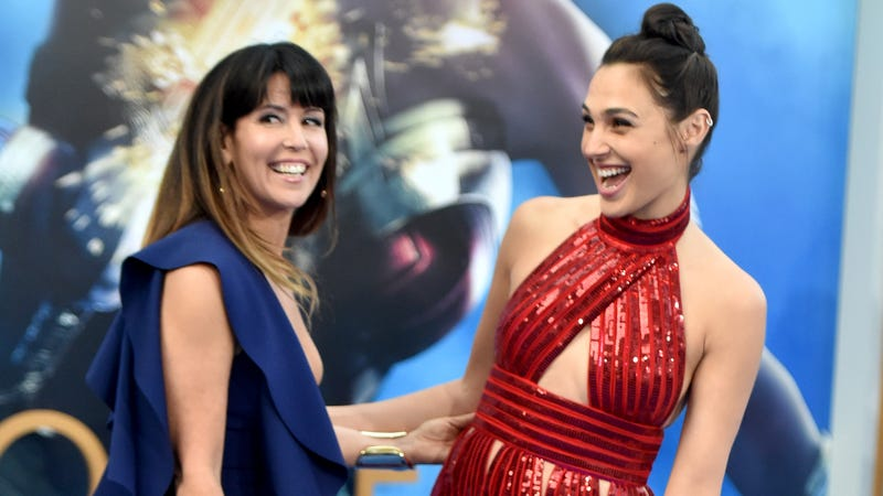 Image:  Patty Jenkins and Gal Gadot at the Wonder Woman premiere (Getty / Frazer Harrison)