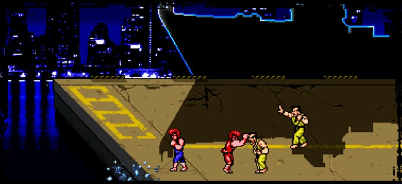 There's A New Double Dragon Game Out Today