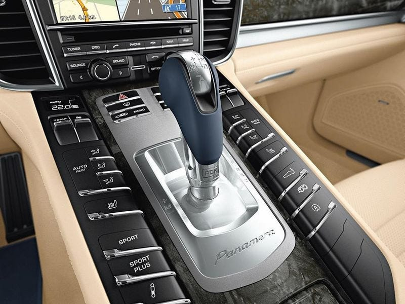 Illustration for article titled Porsche Panamera, Turbo Shows Us Insides, Starts At $89,800