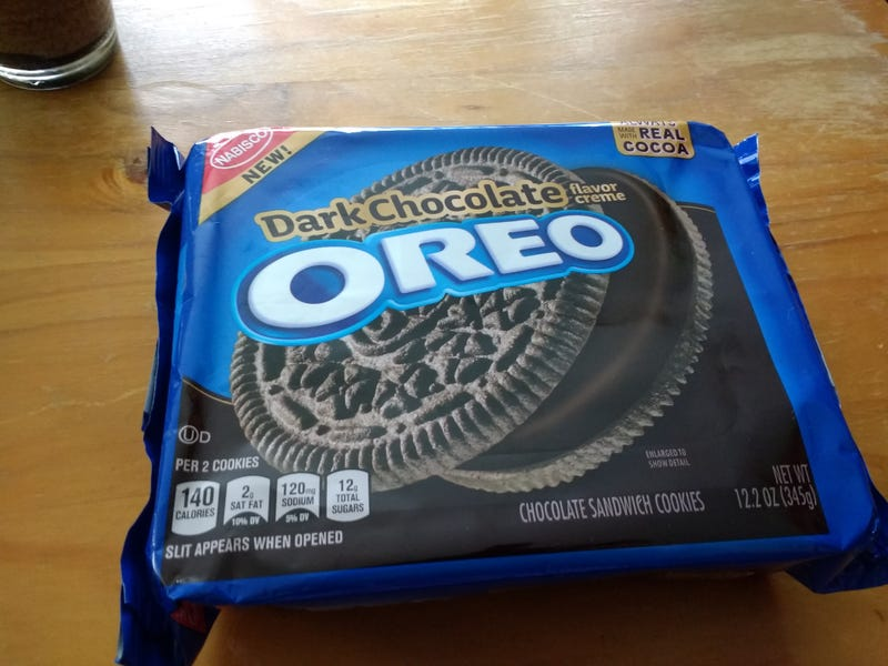 Illustration for article titled Dark Chocolate Oreo's: The Unofficial SnackTAYku Review