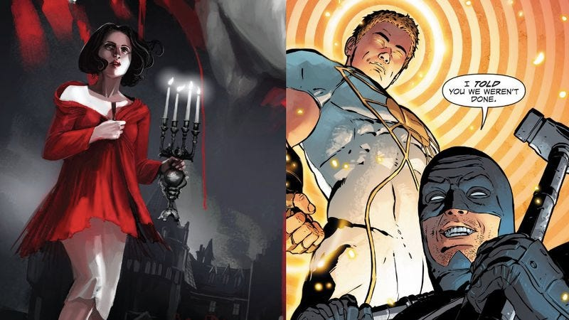 Illustration for article titled DC's revival goes beyond Rebirth with a pair of exceptional debuts