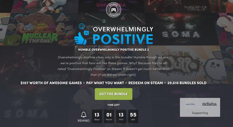 Humble Overwhelmingly Positive Bundle | Humble