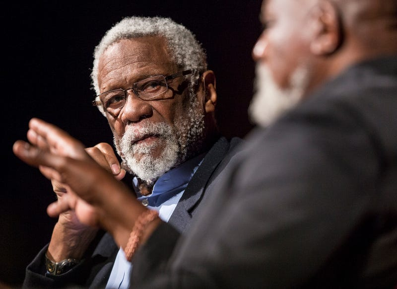Bill Russell on April 9, 2014, in Austin, Texas (Ricardo B. Brazziell-Pool/Getty Images)