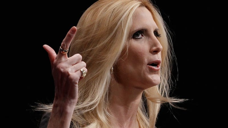 Illustration for article titled Your BFF Ann Coulter to Play Vice President in Terrifying Sharknado 3