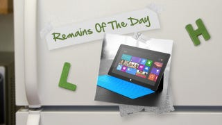Illustration for article titled Remains of the Day: Microsoft Surface Now Available for Pre-Order