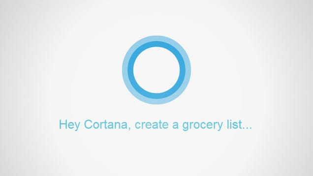 Cortana Can Now Make To-Do Lists and Connect to Your Wunderlist Account