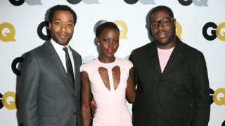 Chiwetel Ejiofor, Lupita Nyong'o and Steve McQueenFrederick M. Brown/Getty Images