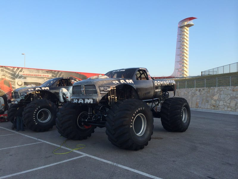 Illustration for article titled This Truck Will Attempt To Break The Monster Truck Speed Record At COTA (UPDATE)