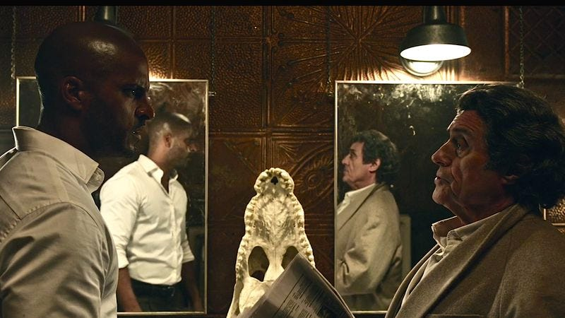 (Ricky Whittle, Ian McShane) (Screenshot: American Gods)