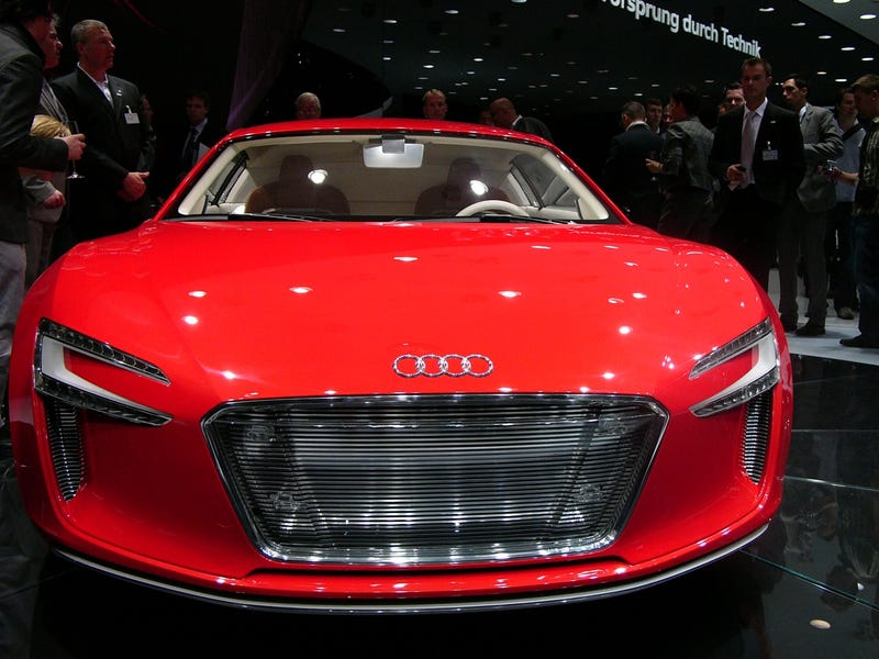 Illustration for article titled Audi e-Tron: Live Photos