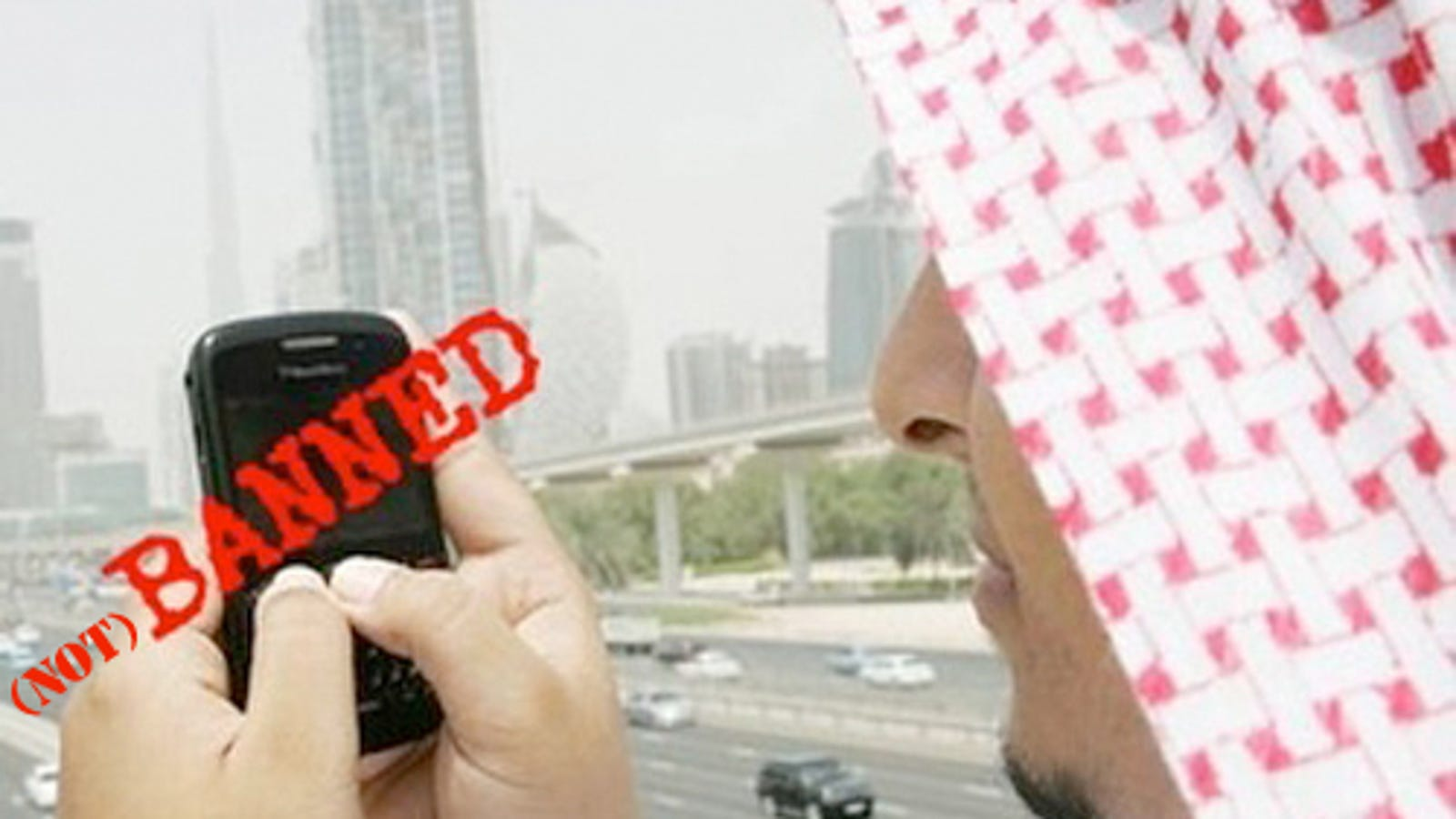 RIM and the UAE Shake Hands and Avoid Banning of BlackBerry