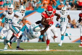 """Illustration for article titled Report: Dolphins Players """"Furious"""" Over Defensive Planning"""