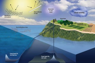 """Illustration for article titled Q&A: Geoengineering Is """"A Bad Idea Whose Time Has Come"""""""