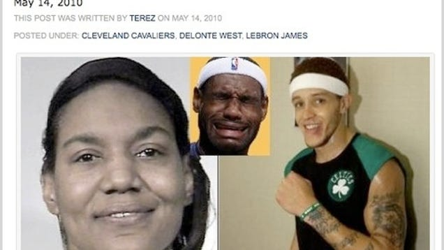 Is delonte west dating lebron james mother 9
