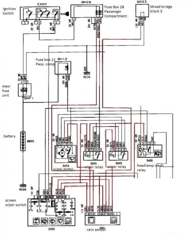 wrg 4948] peugeot 306 wiper motor wiring diagram Briggs and Stratton Electrical Diagram