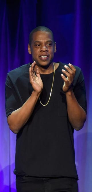 Jay Z onstage March 30, 2015, in New York City for the launch of Tidal, a new music-streaming service.Jamie McCarthy/Getty Images for Roc Nation