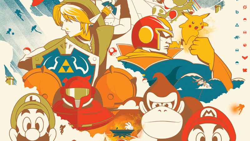 Illustration for article titled 10/27/2014: Prepare For Super Smash Bros. With This Poster