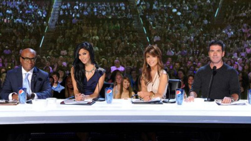 Illustration for article titled SECOND UPDATE: X Factor host Steve Jones, judges Nicole Scherzinger and Paula Abdul all reportedly axed from show