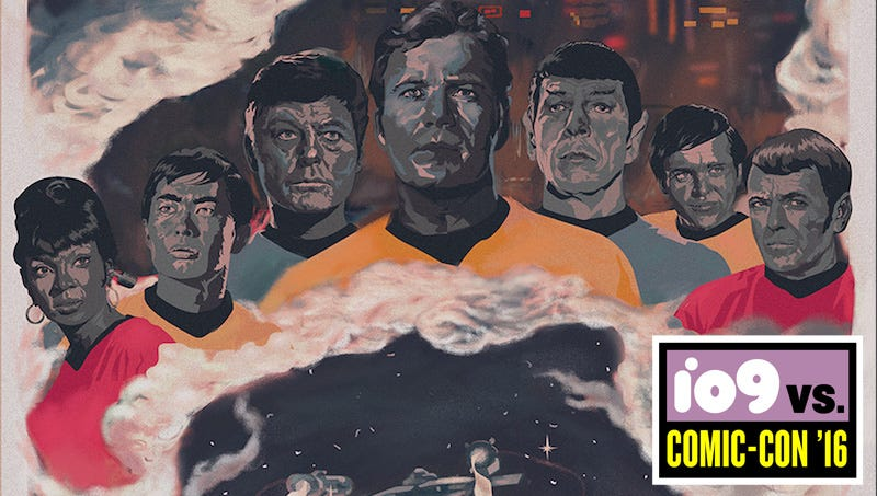 Illustration for article titled 50 Artists Commemorate 50 Years of Star Trek in This Amazing Art Exhibit