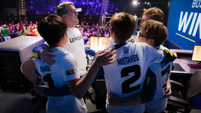 Illustration for article titled Boston Uprising Closes Out Perfect Stage In Overwatch League