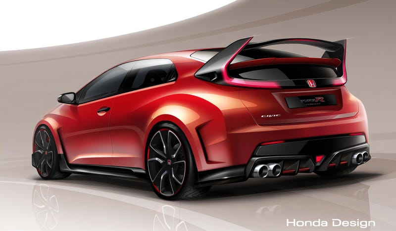 Beautiful The Honda Civic Si Is A Quick Car, But Itu0027s Also Stuck With A Puffy Face  And A Bunch Of Other Tacky Add Ons. And Itu0027s Not A Hatch. The Honda Civic  Type R ...