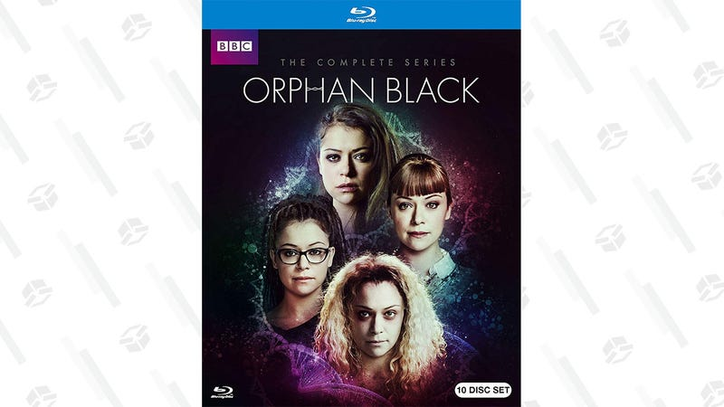 Orphan Black Complete Collection on Blu-ray | $44 | Amazon