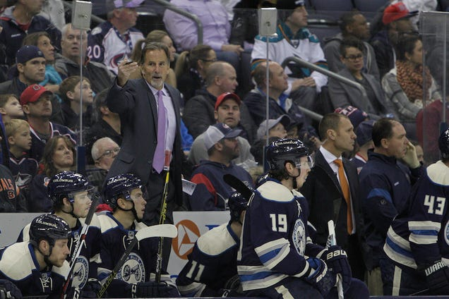 John Tortorella Says He'll Bench Any Player Who Doesn't Stand F…