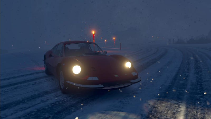 Illustration for article titled Forza Horizon 3's Snow Driving Is Almost Too Real