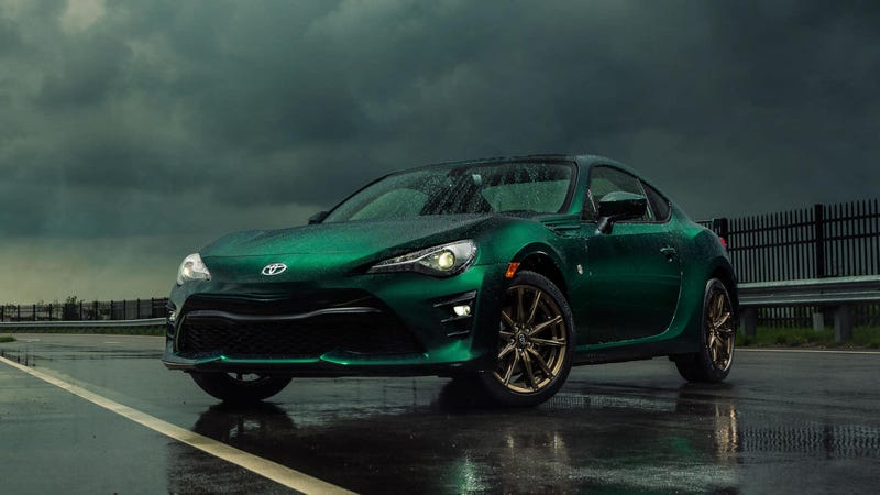 Illustration for article titled That Stunning British Racing Green Toyota 86 Limited Edition Is Coming to the U.S. After All